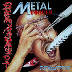 V/A -  Metal Forces Presents...Demolition - Scream Your Brains Out! LP (EX/EX) (P)