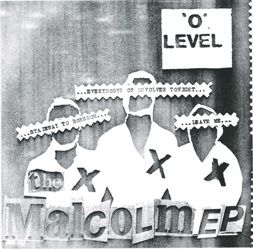 "'O' LEVEL - The Malcolm EP 7"" + P/S (NEW) (P)"