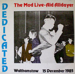 V/A -  Dedicated: The Mod Live-Aid Alldayer  DOUBLE LP (EX/EX/VG+)