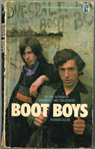 BOOT BOYS - By Richard Allen PAPER BACK BOOK (VG)