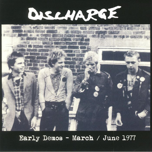 DISCHARGE - Early Years - March / June 1977 (RED VINYL) LP (NEW) (P)
