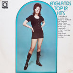 ALAN CADDY ORCHESTRA & SINGERS - Englands Top 12 Hits LP (EX-/VG) (M)