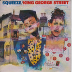 "SQUEEZE - King George Street EP 12"" + P/S (EX/EX) (P)"