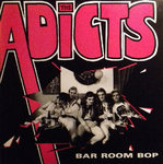 "ADICTS, THE - Bar Room Bop EP 12"" + P/S (VG+/EX) (P)"