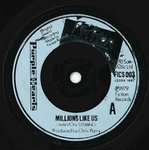 "PURPLE HEARTS, THE - Millions Like Us 7"" (-/EX-) (M)"