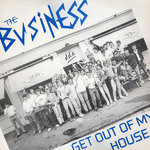 "BUSINESS, THE - Get Out Of My House EP 12"" + P/S (EX/VG) (P)"