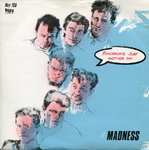 "MADNESS - Tomorrows Just Another Day - 7"" + P/S (EX/EX) (Ska)"