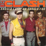 "CLASH, THE -  Should I Stay Or Should I Go 7"" (+ SPANISH P/S) (EX/EX*) (P)"