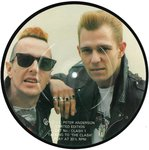 "CLASH, THE - Talking To The Clash PICTURE DISC 7"" (-/EX) (P)"