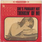 "FEELS, THE - She's Probably Not Thinkin' Of Me 7"" + P/S (NEW) (M)"