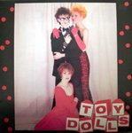"TOY DOLLS, THE - James Bond (Lives Down Our Street) EP 12"" + P/S (VG+/VG+) (P)"