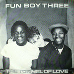 "FUN BOY THREE - The Tunnel Of Love - 7"" + P/S (EX/EX) (M)"
