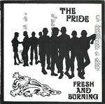 "PRIDE, THE - Fresh And Burning EP 7"" + P/S (EX/EX) (P)"