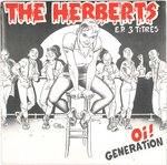 "HERBERTS, THE - Oi! Generation EP 7"" + P/S (EX/EX) (P)"